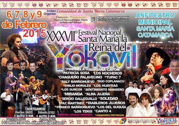 37 Festival Nacional Reina del Yokavil