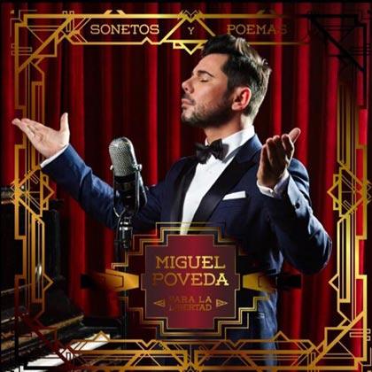 Portada del disco «Sonetos y poemas para la libertad» de Miguel Poveda.