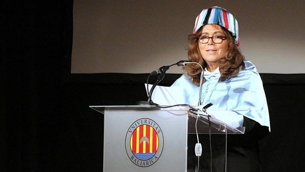 María del Mar Bonet, recibe su doctorado honoris causa en la Universidad de Baleares © Universitat de les Illes Balears (UIB)