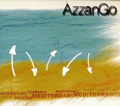 Portada del disco «Mediterranée» de AzzanGo.
