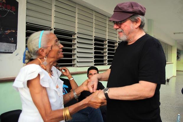 Silvio Rodríguez en su último concierto en en Párraga, municipio Arroyo Naranjo provincia de La Habana.