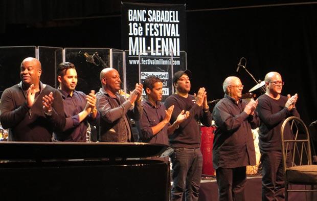 Pablo Milanés con su grupo. © Isabel Llano