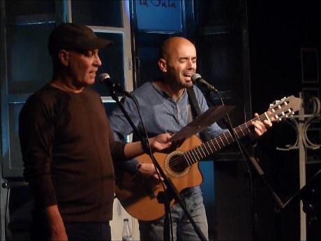 Vicente Feliú y Antonio Amuedo. © Mª Gracia Correa
