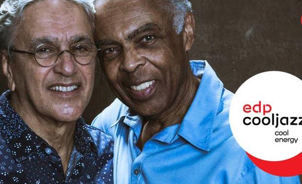 Caetano Veloso y Gilberto Gil, juntos en el festival luso EDPCoolJazz.