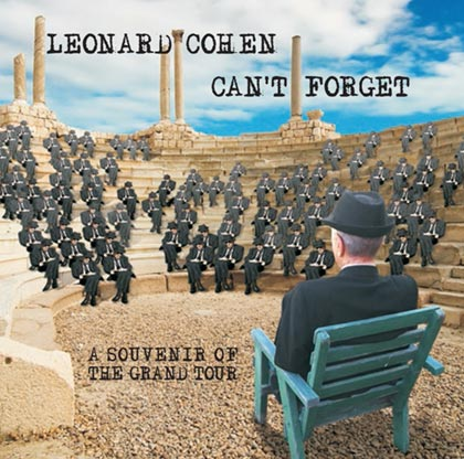 Portada del disco «Can't forget: A souvenir of the Grand Tour» de Leonard Cohen.
