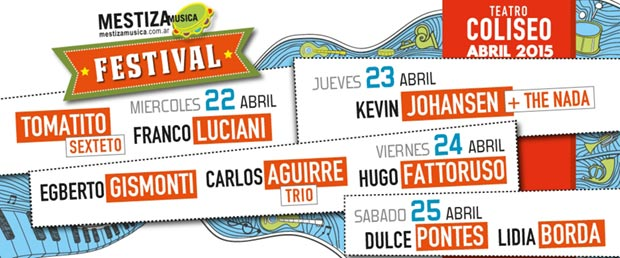 I Mestiza Música Festival Buenos Aires 2015