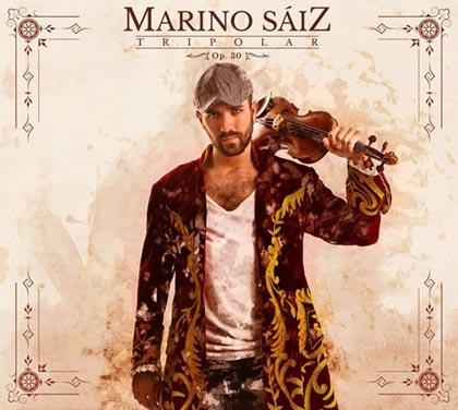 Portada del disco «Tripolar» de Marino Sáiz.