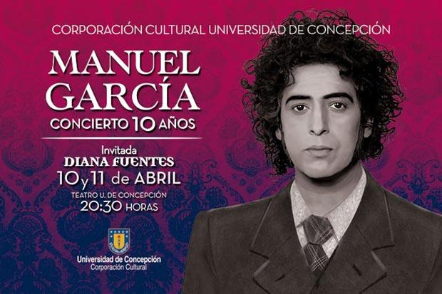 Manuel García celebra 10 años de carrera con dos conciertos sinfónicos.