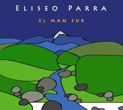 Portada del disco «El Man Sur» de Eliseo Parra.