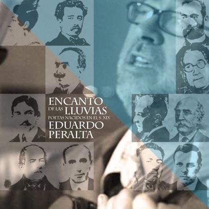 Portada del disco «Encanto de las lluvias» de Eduardo Peralta.