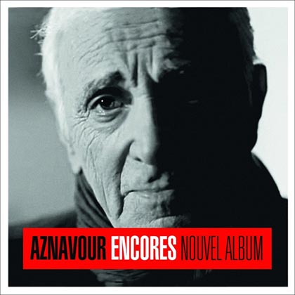 Charles Aznavour lanza «Encores» el próximo mayo.