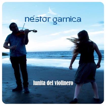 Portada del disco «Lunita del Violinero» de Néstor Garnica.