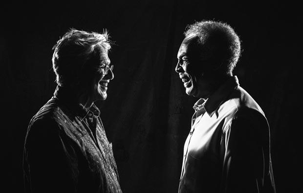 Caetano Veloso y Gilberto Gil.
