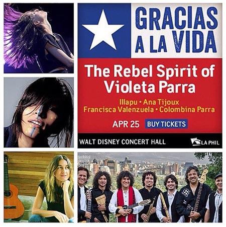 «Gracias a la vida: The rebel spirit of Violeta Parra», Tributo a Violeta Parra en los Estados Unidos.