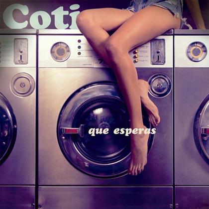 Portada del disco «Qué esperás» de Coti.