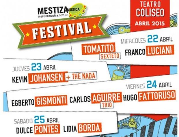 Festival Mestiza Música de Buenos Aires 2015