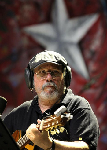 Silvio Rodríguez en Panamá.