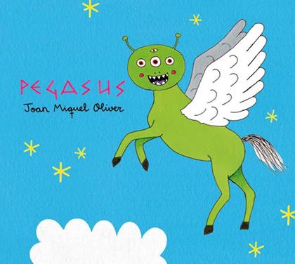 Portada del disco «Pegasus» de Joan Miquel Oliver.