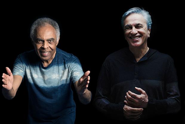 Gilberto Gil y Caetano Veloso.