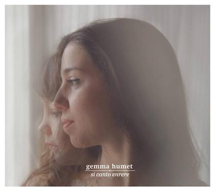 Portada del disco «Si canto enrere» de Gemma Humet.