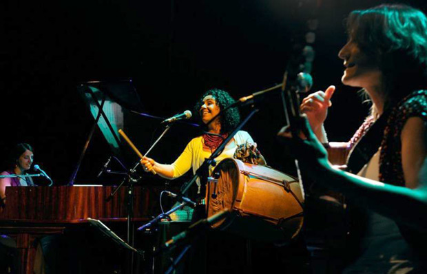 El trío argentino Aymama © Fernando Gens/Télam