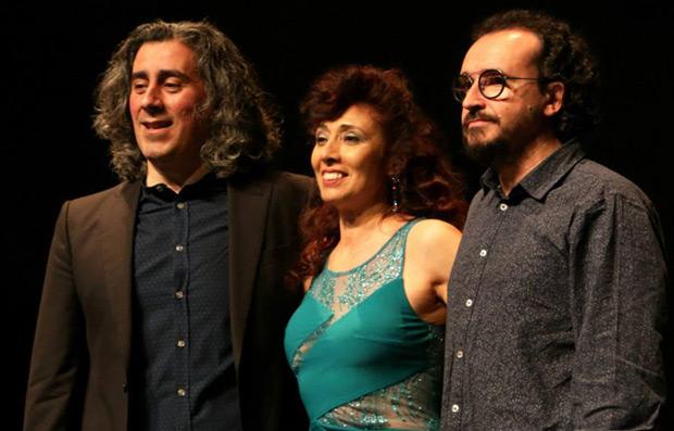 Miguel Soler junto a Ángela Muro y Juan Trova © Jose M. Ferro Ríos