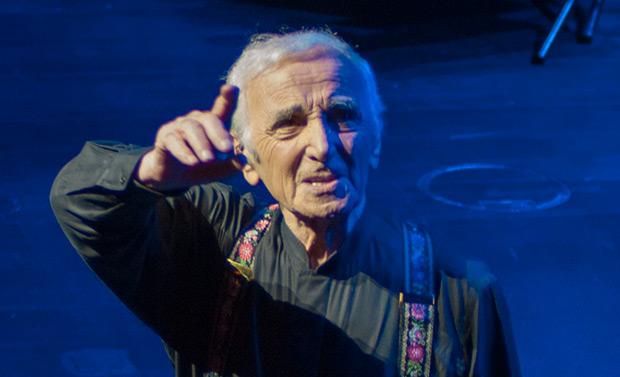 Charles Aznavour. © Xavier Pintanel