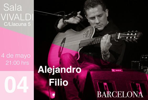Alejandro Filio vuelve a Europa