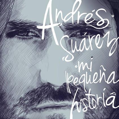 Portada del disco «Mi pequeña historia» de Andrés Suárez.