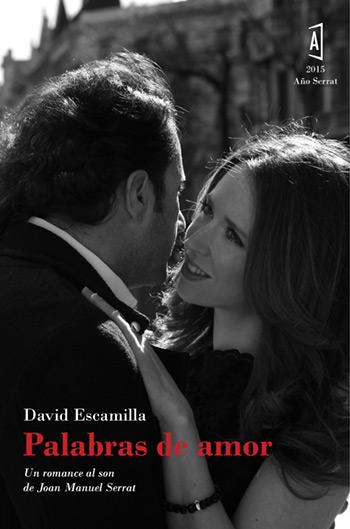 Portada del libro «Palabras de amor» David Escamilla.