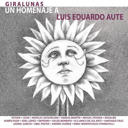 Portada del disco «Giralunas. Un homenaje a Luis Eduardo Aute».