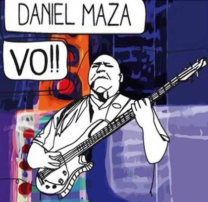 Portada del disco «Vo!!» de Daniel Maza.