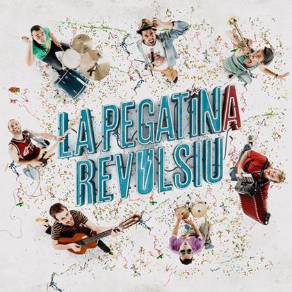 Portada del disco «Revulsiu» de La Pegatina.