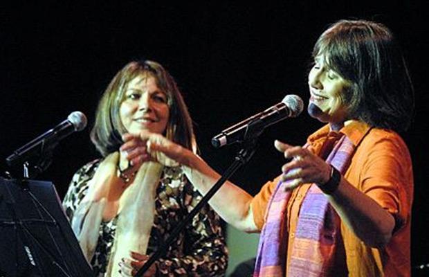 Liuba María Hevia y Cecilia Todd.