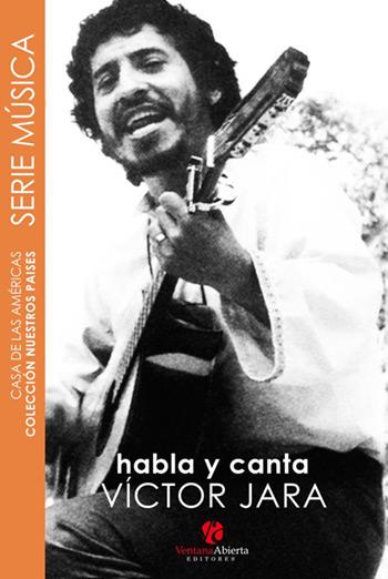 Portada del libro «Habla y canta Víctor Jara».