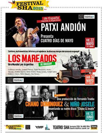 Festival SHA 2015 Buenos Aires