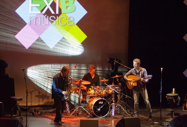 Considerado uno de los mejores saxofonistas españoles, Javier Paxariño ofreció un showcase acompañado por sus habituales Josete Ordóñez y Manu de Lucena. © Xavier Pintanel