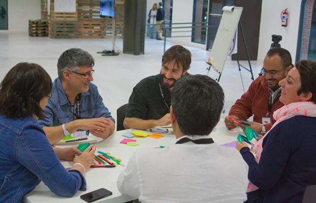 Objetivo: encajar lo improbable para la innovación y cooperación entre festivales. © Xavier Pintanel