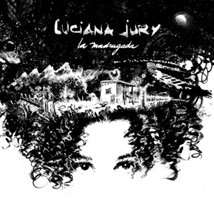 Portada del disco «La Madrugada» de Luciana Jury.