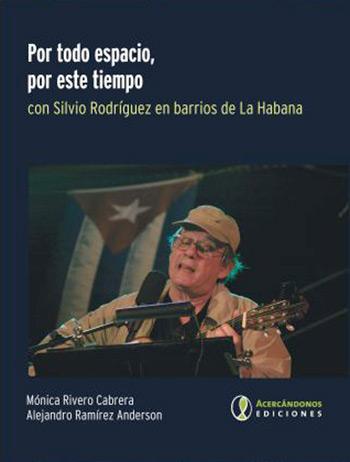 Portada del libro «Por todo espacio, por este tiempo» de Mónica Rivero y Alejandro Ramírez Anderson.