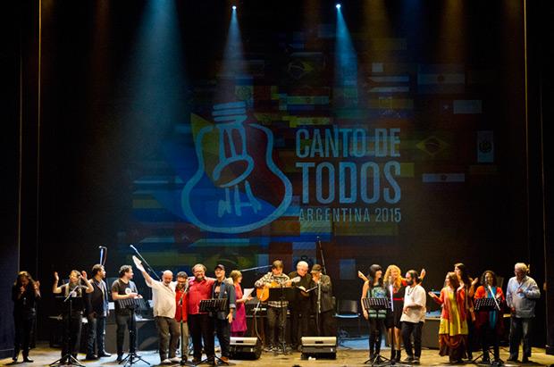 Final del Encuentro de la canción social de Latinoamérica y el Caribe en Buenos Aires. © Ministerio de Cultura de la Argentina