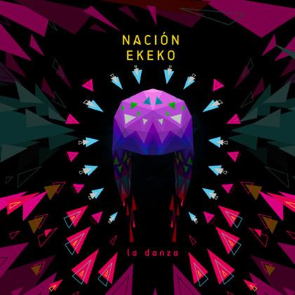 Portada del disco «La danza» de Nación Ekeko.