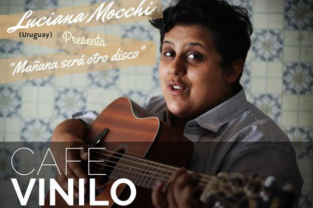 Luciana Mocchi adelanta su segundo disco en Café Vinilo.