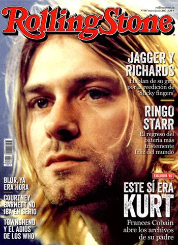 Número 187 con Kurt Cobain en portada de la revista Rolling Stone.