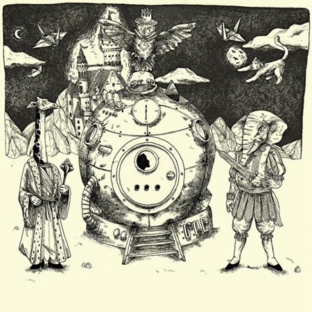 Portada del disco «Máquina del tiempo» de Juan Forche.