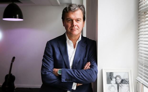 Hans-Holger Albrecht, CEO de Deezer. © Deezer