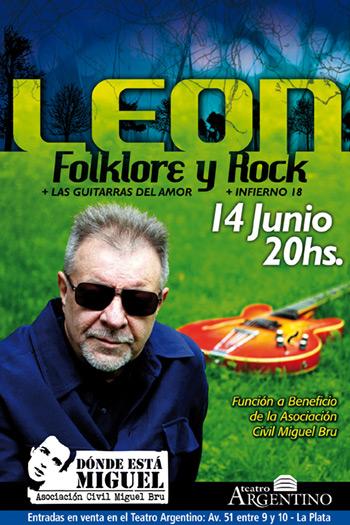 León Gieco dará un recital a beneficio de las víctimas de violencia policial.