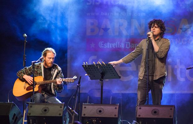 Joanjo Bosk presentó canciones de su último trabajo «Figueres-Gernika» además de «L