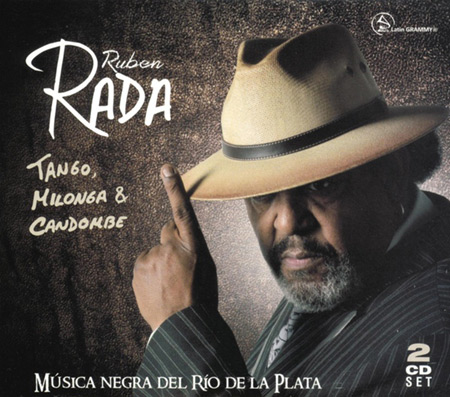 Portada del disco «Tango, milonga y candombe» de Rubén Rada.