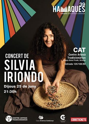Silvia Iriondo en el Ciclo Hamaques